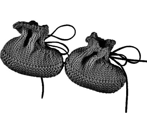 TOCON BABY BOOTIES COAL