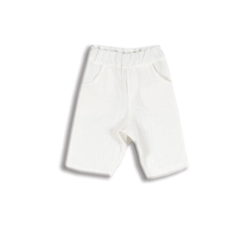 AMELIA RAY LINEN SHORTS WHITE