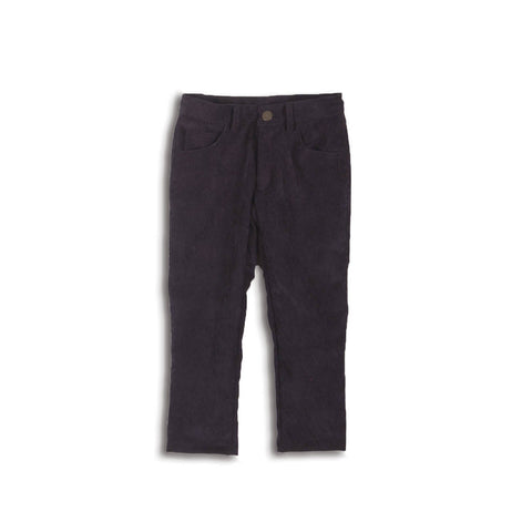 AMELIA CORDUROY TEX PANTS NAVY