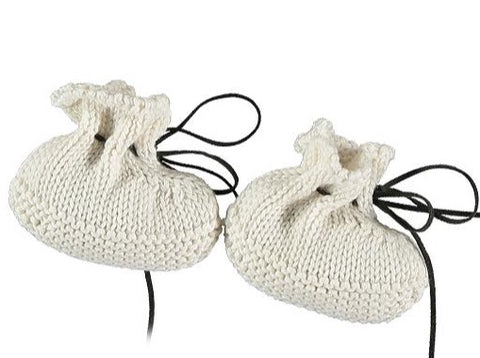 TOCON BABY BOOTIES NATURAL