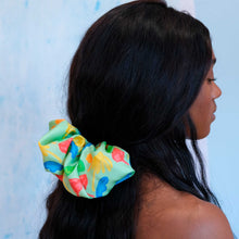 Load image into Gallery viewer, Spring Garden - Giant Silk Scrunchie