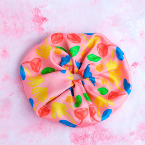 Nuage Rose - Giant Silk Scrunchie