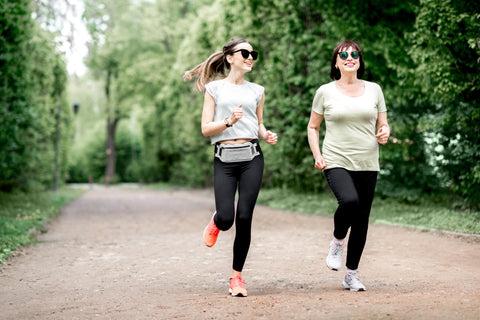 Avoid dull skin with excercise!