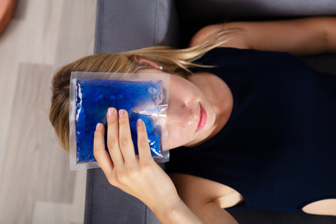cryotherapy reduces migraines
