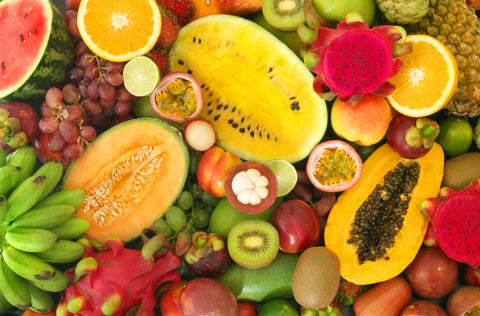 Fruit enzymes are exfoliating and brighten skin