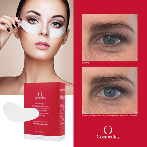 O Cosmedics Native Collagen Eye Mask Duo