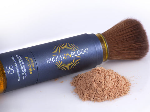 Brush On Block Mineral Sunscreen SPF30 - Touch of Tan