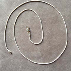 "20"" Sterling Silver Snake Chain Necklace"