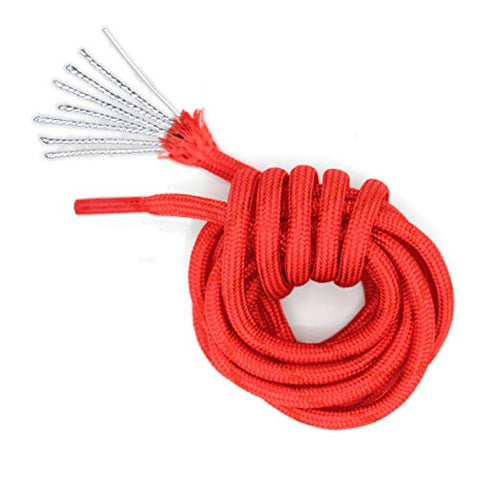 Honey Badger Paracord Boot Laces - Withstands 550 lbs - 7 Strand Nylon Core - 2 Pair Pack