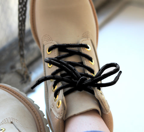 Image of Honey Badger Kevlar Boot Laces - Black
