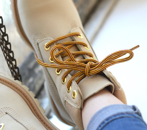 Honey Badger Kevlar Boot Laces - Gold