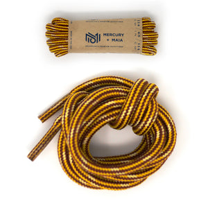 Honey Badger Boot Laces Heavy Duty W/Kevlar - (8 Pairs)