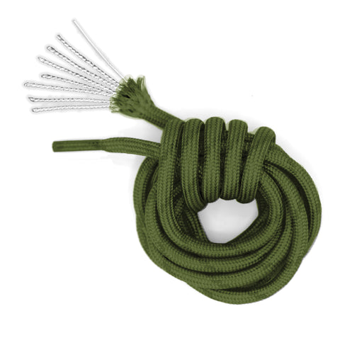 Image of Honey Badger Paracord Boot Laces - Withstands 550 lbs - 7 Strand Nylon Core - 2 Pair Pack