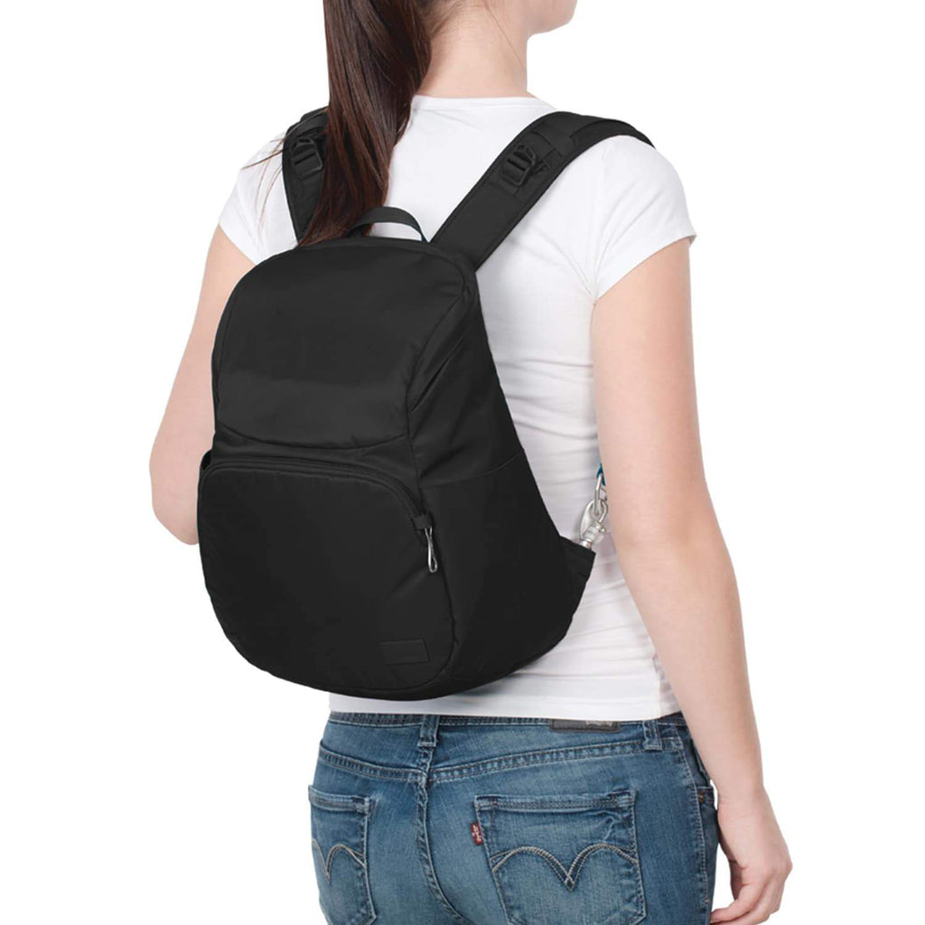 Citysafe CS300 Anti-Theft Compact Backpack, Black