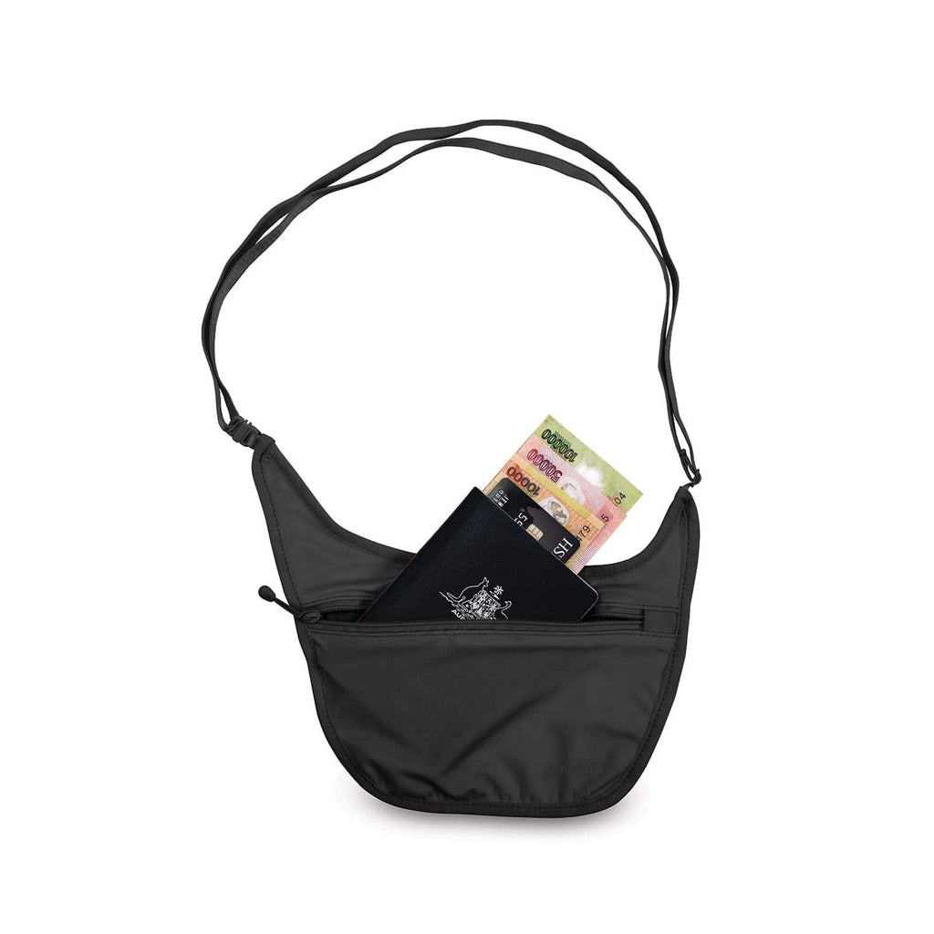 Coversafe S80 Secret Travel Body Pouch, Black