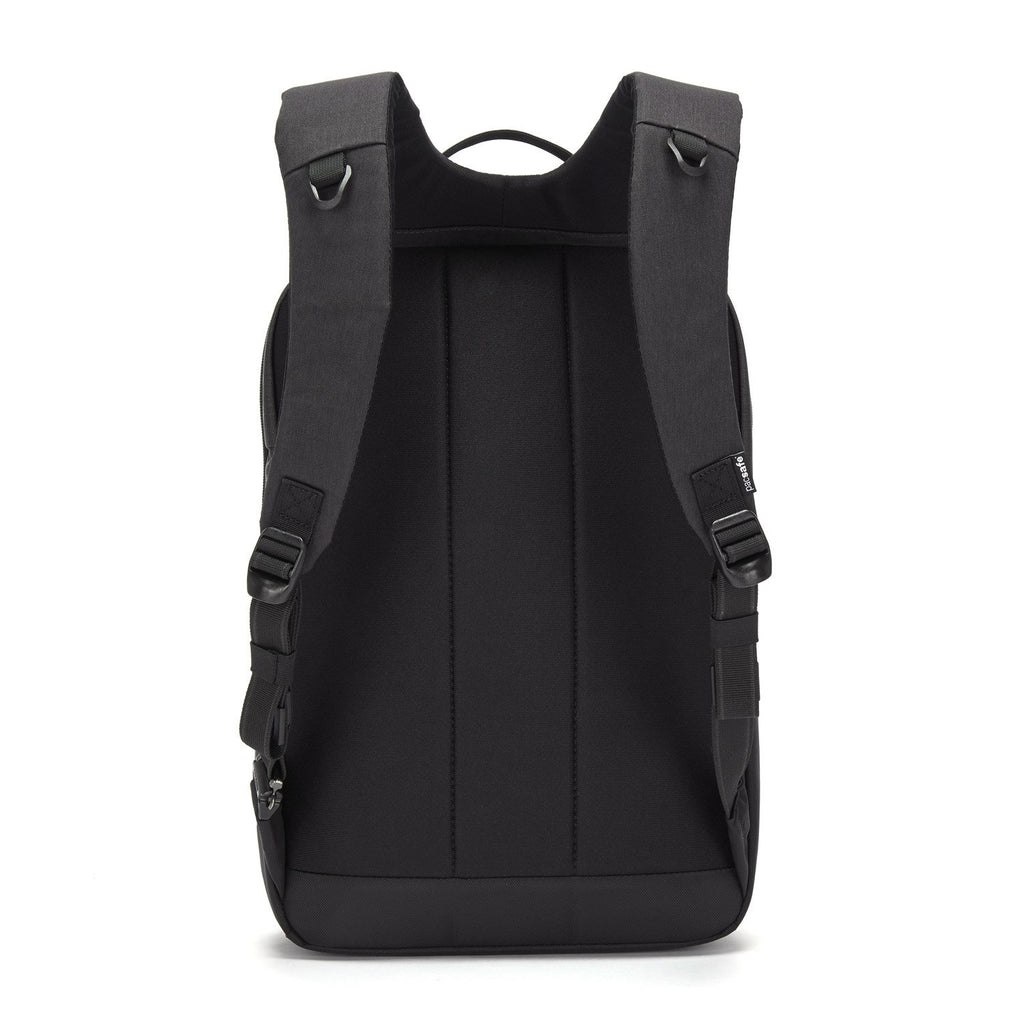 "Intasafe X Anti-Theft 15"" Laptop Slim Backpack, Black"