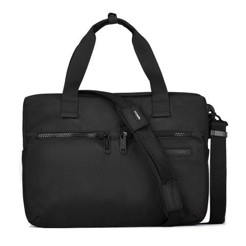 "Intasafe Anti-Theft 15"" Laptop Slim Brief, Black"