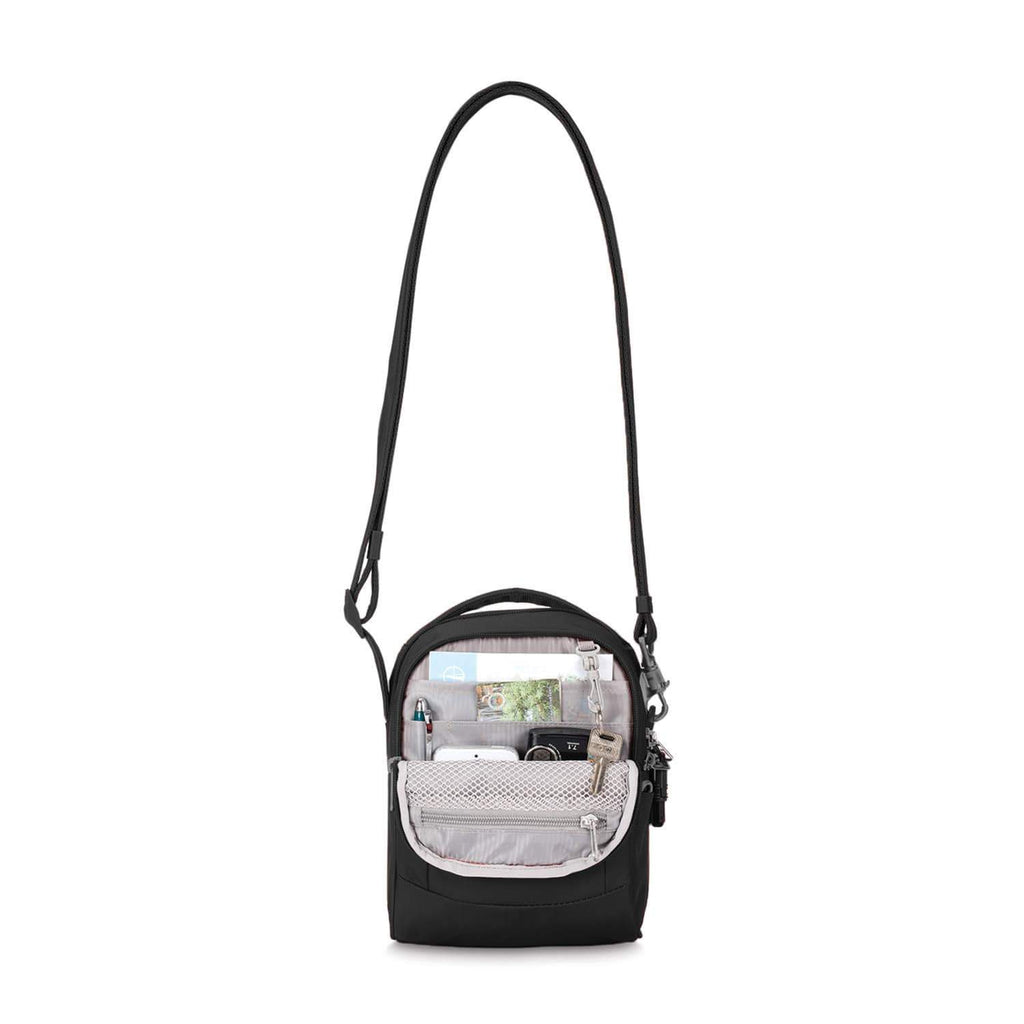 Metrosafe LS100 Anti-Theft Crossbody Bag, Black
