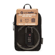 Prosafe 1000 Combination Lock With Steel Cable, Black