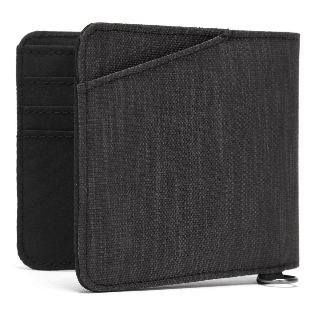 RFIDsafe RFID Blocking Bifold Wallet, Carbon