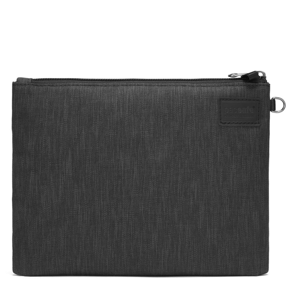 RFIDsafe RFID Blocking Small Travel Pouch, Carbon
