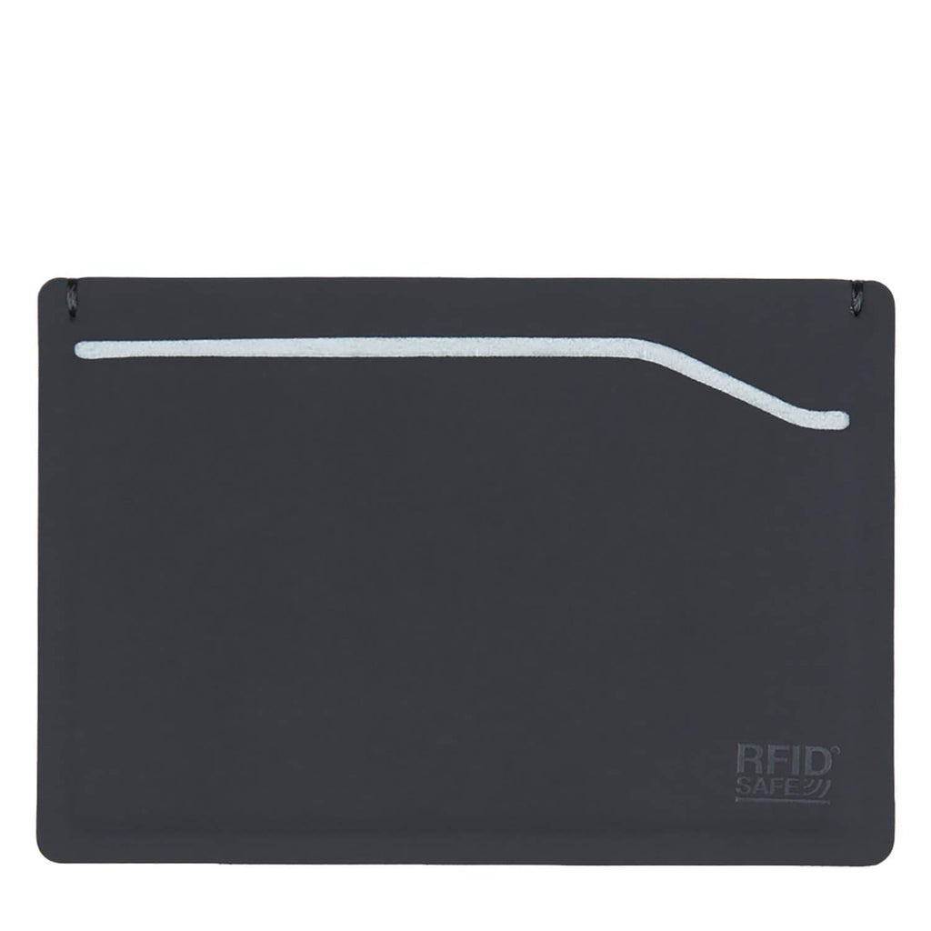 RFIDsafe TEC RFID Blocking Card Sleeve Wallet, Black