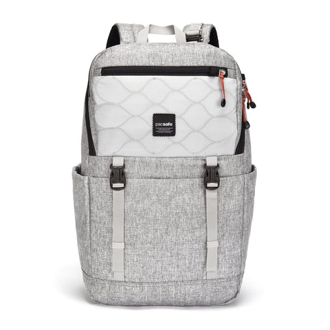 Slingsafe LX500 Anti-Theft Backpack, Tweed Gray