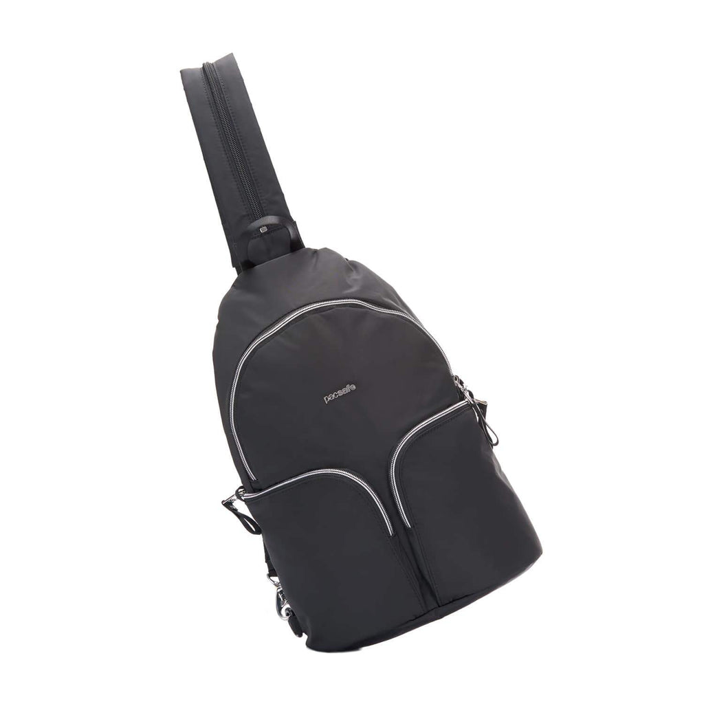 Stylesafe Anti-Theft Convertible Sling To Backpack, Black