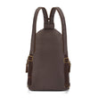 Stylesafe Anti-Theft Convertible Sling To Backpack, Mocha