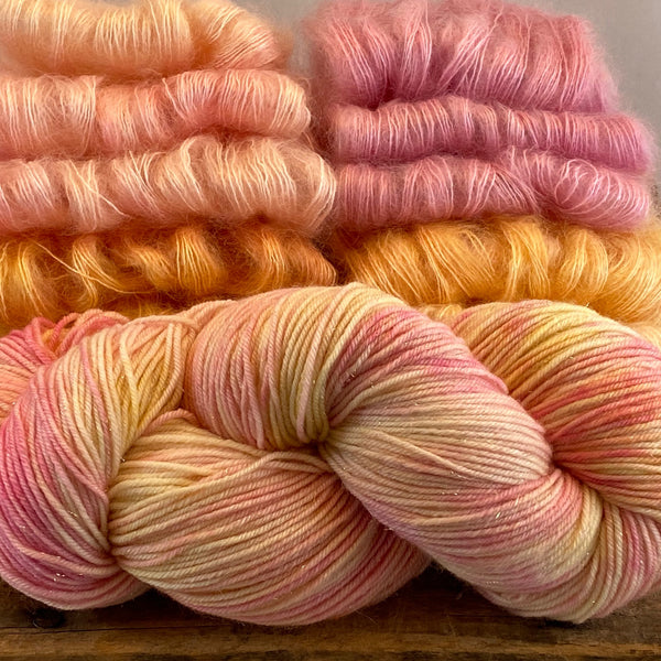 Summer Sunrise Gilded Extrafine Merino