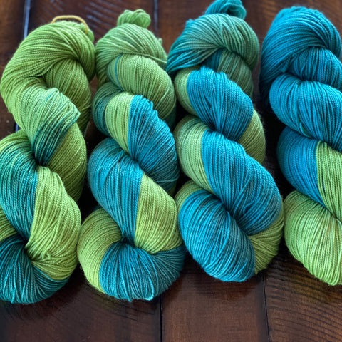 Spring Hydrangeas Fade Set on Sock Light 10% off!