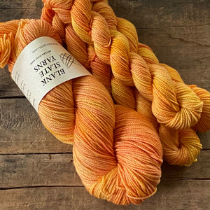 Sweet Orange Extrafine Merino Sock