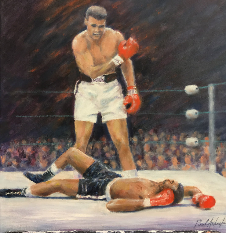 Muhammad ali, ali, greatest boxer, the greatest, Muhammad Ali oil painting, Muhammad Ali print, greatest boxer of all time