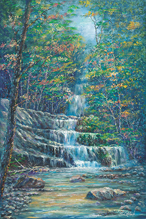 Smokey Mountain Waterfall