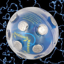 Load image into Gallery viewer, Safe Electric Shocking Ball Novelty Toy X'mas Party Game Shock Glowing Ball Stress Relief Auto off Fun Prank Trick magnetic ball