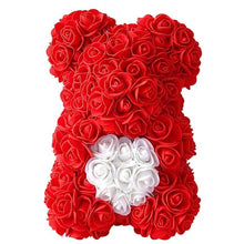 Load image into Gallery viewer, Artificial Waterproof Teddy Bear Rose Flower