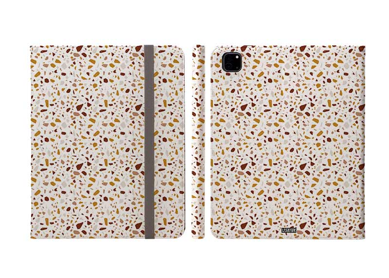 Orange Splatter Ipad Pro Folio Case