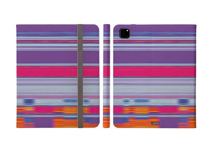 Troubled Glitch Ipad Pro Folio Case