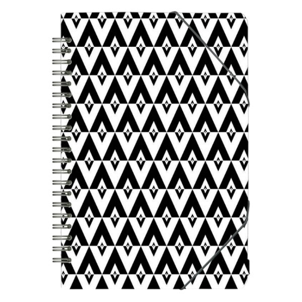Artic Bouquet Spiral Notepad - CaseNation