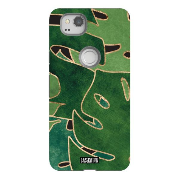 Tropical Green Tough Phone Case - CaseNation