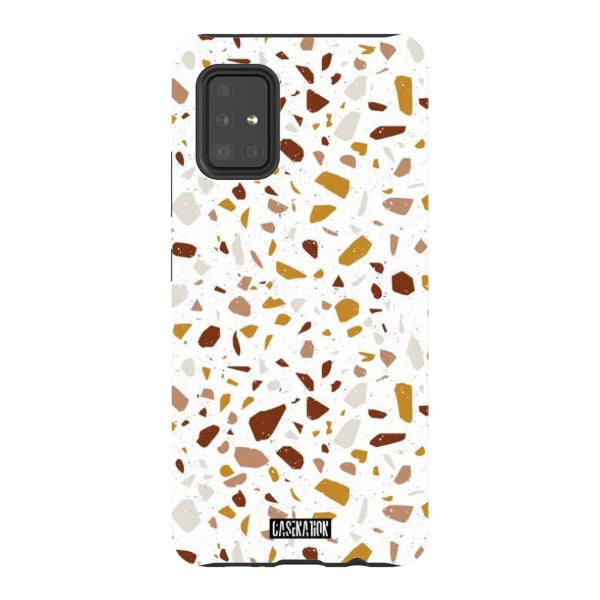 Orange Splatter Tough Phone Case - CaseNation