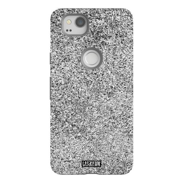 White Noise Tough Phone Case