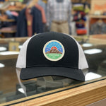GOPC LOWPRO WOVEN PATCH HAT BLACK