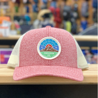 GOPC LOWPRO WOVEN PATCH HAT RED HEATHER