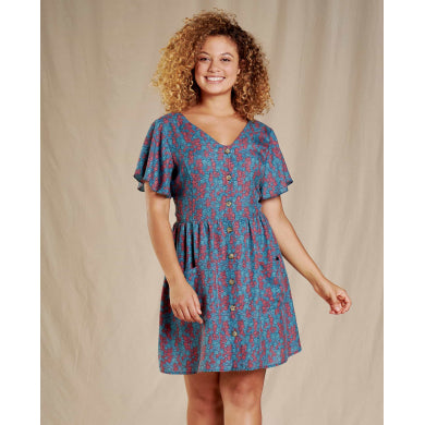 Hillrose Button-Up SS Dress