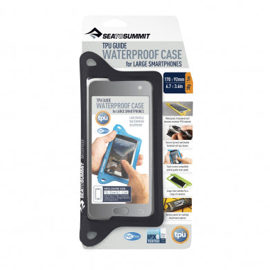 TPU Guide Waterproof Case for Large Smartphones