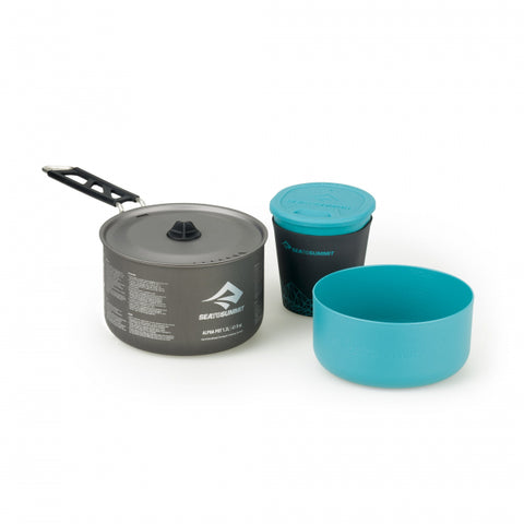 Alpha Cook Set 1.1 - 1.2L pot, 1 bowl, 1 cups