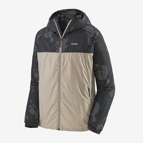 SAMPLE SALE M's Mojave Trails Windbreaker - Pumice - Medium