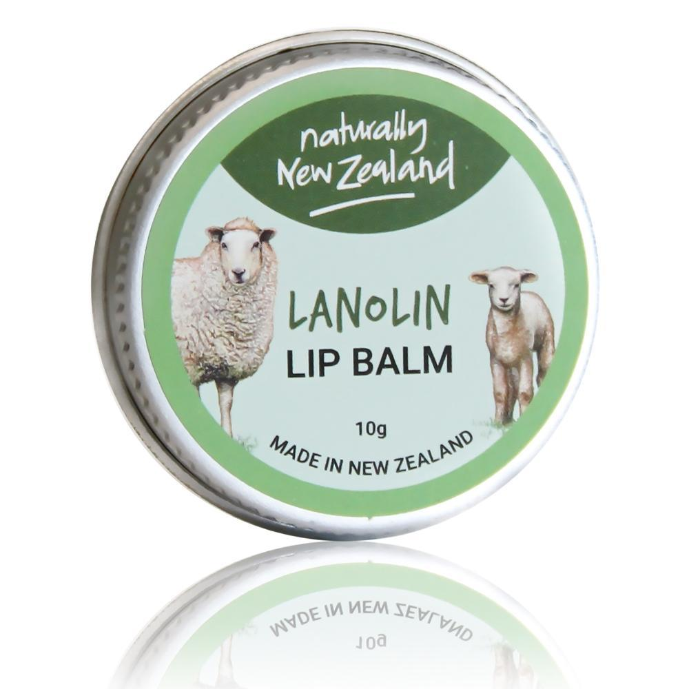 Lanolin Lip Balm - Naturally NZ 10g