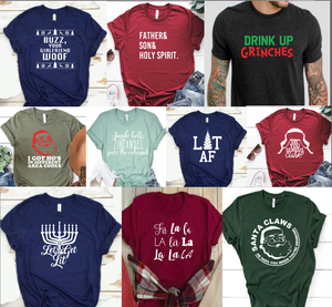 DISCOUNTED Holiday Collection Shirts